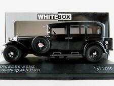 WhiteBox WB296 Mercedes-Benz Typ Nürburg 460 (1929) in schwarz 1:43 NEU/OVP
