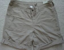 NWT North Face womens roll up relaxed hiking shorts size 8 Horizon Sunnyside