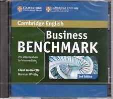 Cambridge BUSINESS BENCHMARK Pre to Intermediate BULATS Class Audio CD 2nd E New