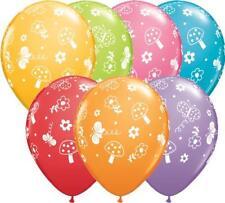 "10 x Jardin & Papillons Festive Variés Qualatex 11"" Ballons"