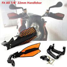 """1 Pair Motorcycle Bikes Hand Guard 22 mm 7/8"""" Handlebar Wind Deflector Protector"""