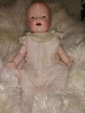 Mama Crier Composition Baby Doll circa 1930's soft body hard arms