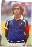 Michel Platini + Fußball Nationalspieler Frankreich + Fan Big Card Edition D27 +
