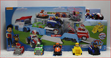 LOT 6 - Paw PATROLLER Truck + RYDER & ATV + 5 Paw Patrol RACERS Vehicle Cars