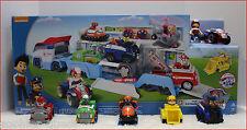 LOT 6 - Paw PATROLLER Truck + RYDER & ATV + 5 Paw Patrol RACERS Vehicle Cars