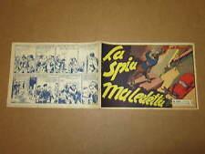 GLI ALBI DELL'INTREPIDO N°224 DEL 1-5-1950 LA SPIA MALEDETTA