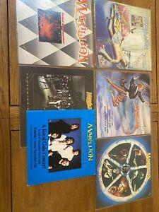 Marillion Vinyl Record Collection