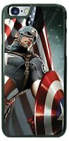 Captain America USA Flag Phone Case for iPhone PLUS Samsung Google LG etc.