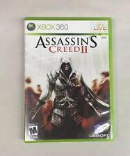 Assassin's Creed II 2 (Microsoft Xbox 360) GUARANTEED - TESTED