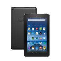 "Amazon Kindle Fire Tablet 8gb 7th Generation 2017 Release With Alexa 7"" Black"
