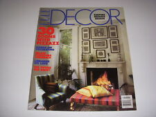ELLE DECOR Magazine, Feb./March, 1994, 30 ROOMS WITH PIZZAZZ, INLAID FURNITURE!