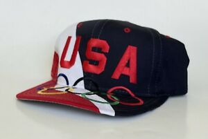 NWOT Vintage 90s First Pick Sports USA Olympic Team Cap Dream Team Snapback Hat