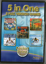 Pinball | Decathalon | H Wars | Bodyboarders | Win 95 98 XP (7 8 10 see listing)