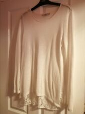 Next Lace detail jumper size 12 very good condition