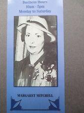 BOOKMARK MARGARET MITCHELL Author Writer Photograph Wallace & Scott Books