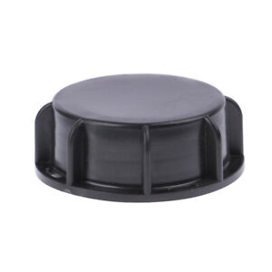 1PC Plastic valve Lid 100mm Black Cap for IBC Tank Valve Leakproof Cover*