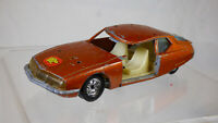 Rare 1:37 Guisval Citroen SM33 Vintage Diecast Orange Toy Car Made In Spain