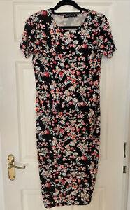 Sugarhill Boutique Floral Midi Dress Size 14