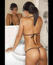 MILA KUNIS 8X10 CELEBRITY PHOTO PICTURE HOT SEXY STRING BIKINI 112