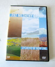 DVD PAT METHENY GROUP SPEAKING OIF A NOW LIFE