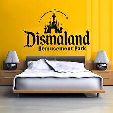 BANSKY DISMALAND BEMUSEMENT PARK vinyl wall art decal sticker