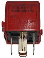 BMW E36 ABS Pump Motor Main Relay Red 61361393404 V23134-A52-X273