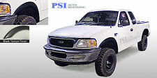 Black Textured Rugged Fender Flares 1997 - 2003 Ford F-150 ; Styleside Only 4pc