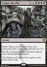 Empty the Pits -LP- Khans of Tarkir MTG Magic Cards Black Rare