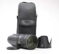 Nikon AF-S Nikkor 70-200 mm 2.8 G ED VR II + Sehr Gut (219068)