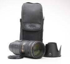 Nikon AF-S Nikkor 70-200 mm 2.8 G ED VR II + très bien (219068)