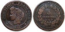 5 CENTIMES CERES 1896 TORCHE  F.118