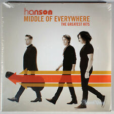 Hanson - Middle of Everywhere: The Greatest Hits (2017) [Sealed] Vinyl Lp •
