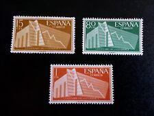 SELLOS ESPAÑA MNH 1956 CENTENARIO DE LA ESTADÍSTICA ESPAÑOLA