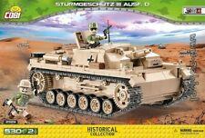COBI  2529  Sturmgeschütz III Ausf. D   WWII German tank gun
