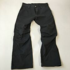 G-Star Originals Elwood Gray Jeans 31x30 Early 00's Workwear Denim Double Knee