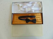 US NAVY USN MALE OFFICERS RANKS ONE SIZE FITS ALL MESS DRESS GOLD CUMMERBUND SET