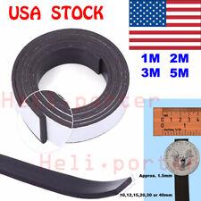 1M/2M/3M/5M Rubber Self Adhesive Magnetic Stripe Flexible Magnet DIY Strip Tape