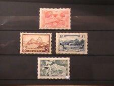 Switzerland stamps 1918; 1928/31; Mountains; unused