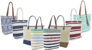 Womens Shoulder Metallic Tote Bag Summer Holiday Beach Handbag Reusable Ladies