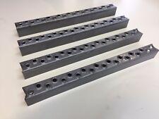 Aufstieg Trittstufe Leitersprossen Stiege Metall Stahl 317mm - 4 Stück komplett