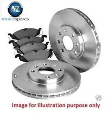 FOR NISSAN 300ZX T TURBO 1990-1994 3.0i NEW FRONT DISCS SET + PADS SET