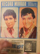 Record Mirror Magazine - Nov.18, 1967 - Tom Jones,Elvis, Dusty, Supremes,Beatles