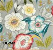 """18"""" x 18"""" Covington Amagansett Sterling Pillow Cover Floral Hand Crafted"""