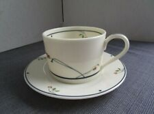 Gorham Ariana, Town and Country Blue Band: Cup/Saucer Set (s)