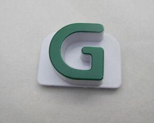"""LEAP FROG Fridge Phonics MAGNETIC ALPHABET CAPITAL LETTER """"G"""" Replacement Piece"""