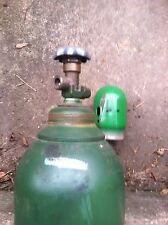 Used 125 CF  Oxygen Cylinder With  540 Cga Valve Blank Neck Ring