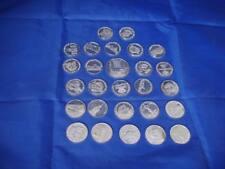 Lote 27 monedas. Semana Santa Zamora. Plata 925. Cofradías, pasos y monumentos