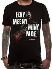 Walking dead eeny meeny t-shirt licensed femme noir l