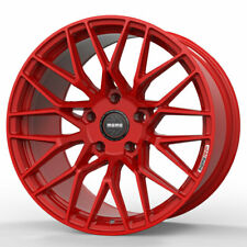 "19"" MOMO RF-20 Red 19x9 19x10 Concave Forged Wheels Rims Fits Infiniti G37 G37S"