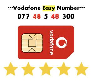 Vodafone Sim Card Easy Number GOLD VIP Sim Fancy Number '077 48 5 48 300'